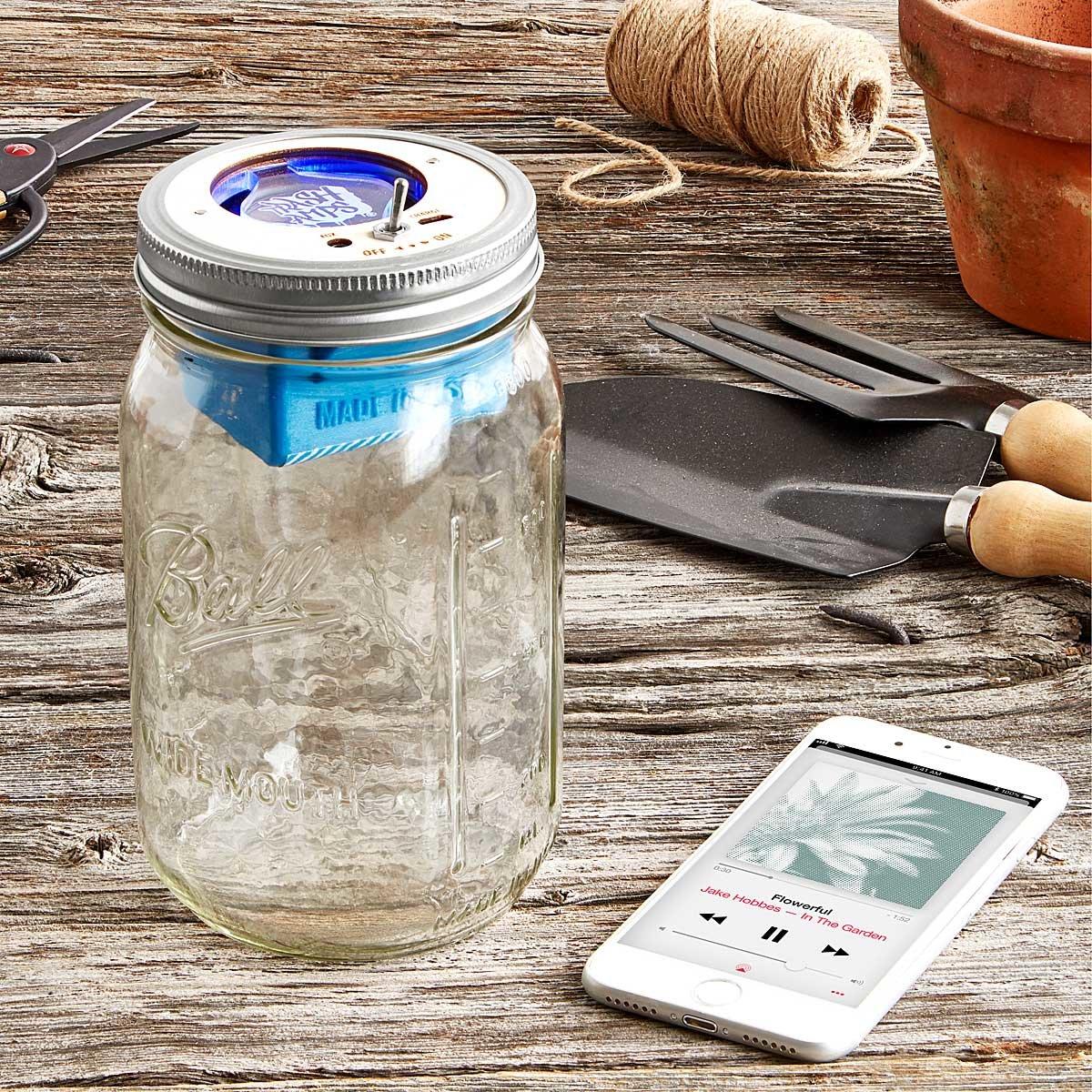 Bluetooth Mason Jar Speaker Multi Tool Mason Jars