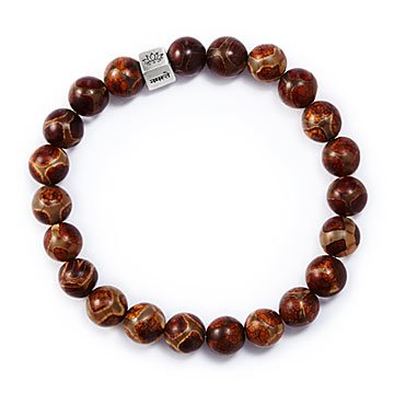 DZI Bead Messaging Bracelet