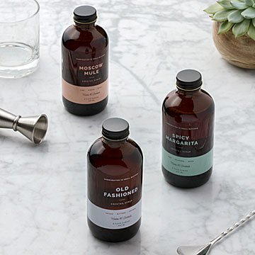 Top Shelf Cocktail Syrups