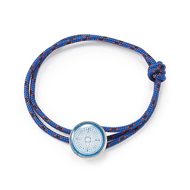 Compass Rose Rope Bracelet