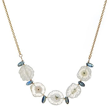 Luminous Solar Quartz Necklace