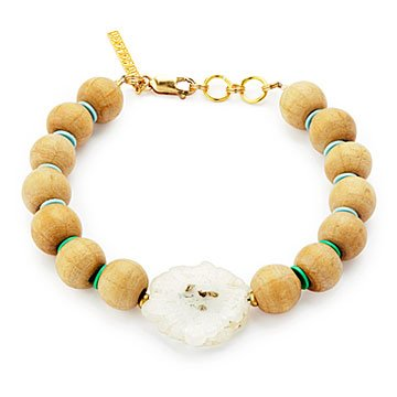 Luminous Solar Quartz Bracelet