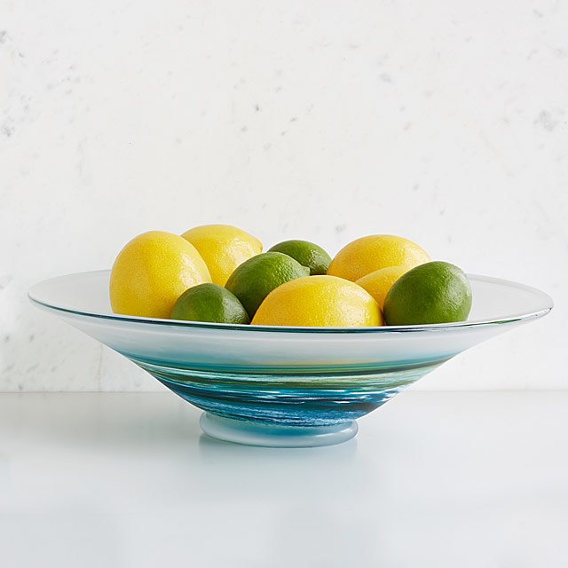 Sea Spray Serving Bowl