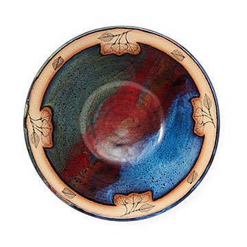Aspen Sunset Serving Bowl