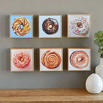 Doughnut Art Portrait