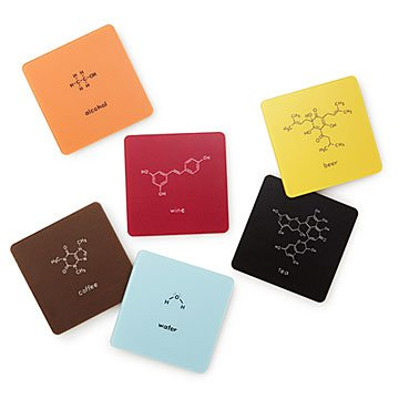Molecular Drink Coaster Set