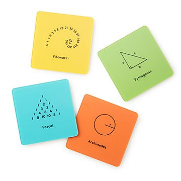 Mathematical Coaster Set