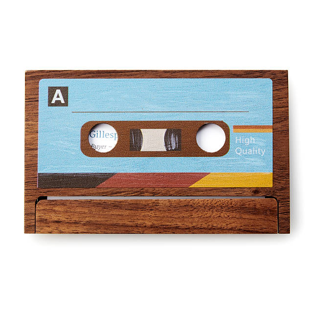 Cassette Business Card Case