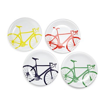 Bicycle Dinner Plates