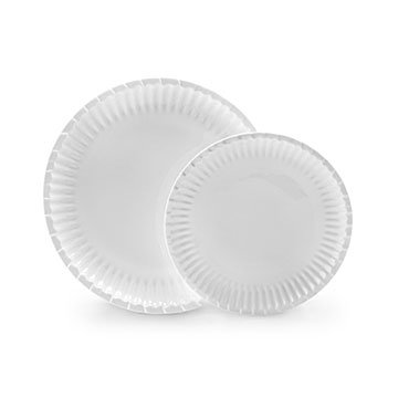 Porcelain Paper Plate Set  sc 1 st  UncommonGoods & Best Dishware Sets Unique Plates Recycled Dishware | UncommonGoods