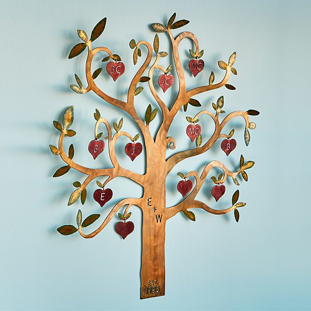 Personalized Family Tree Wall Sculpture