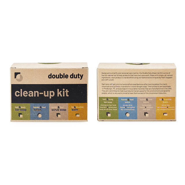 Double Duty Clean-Up Kit