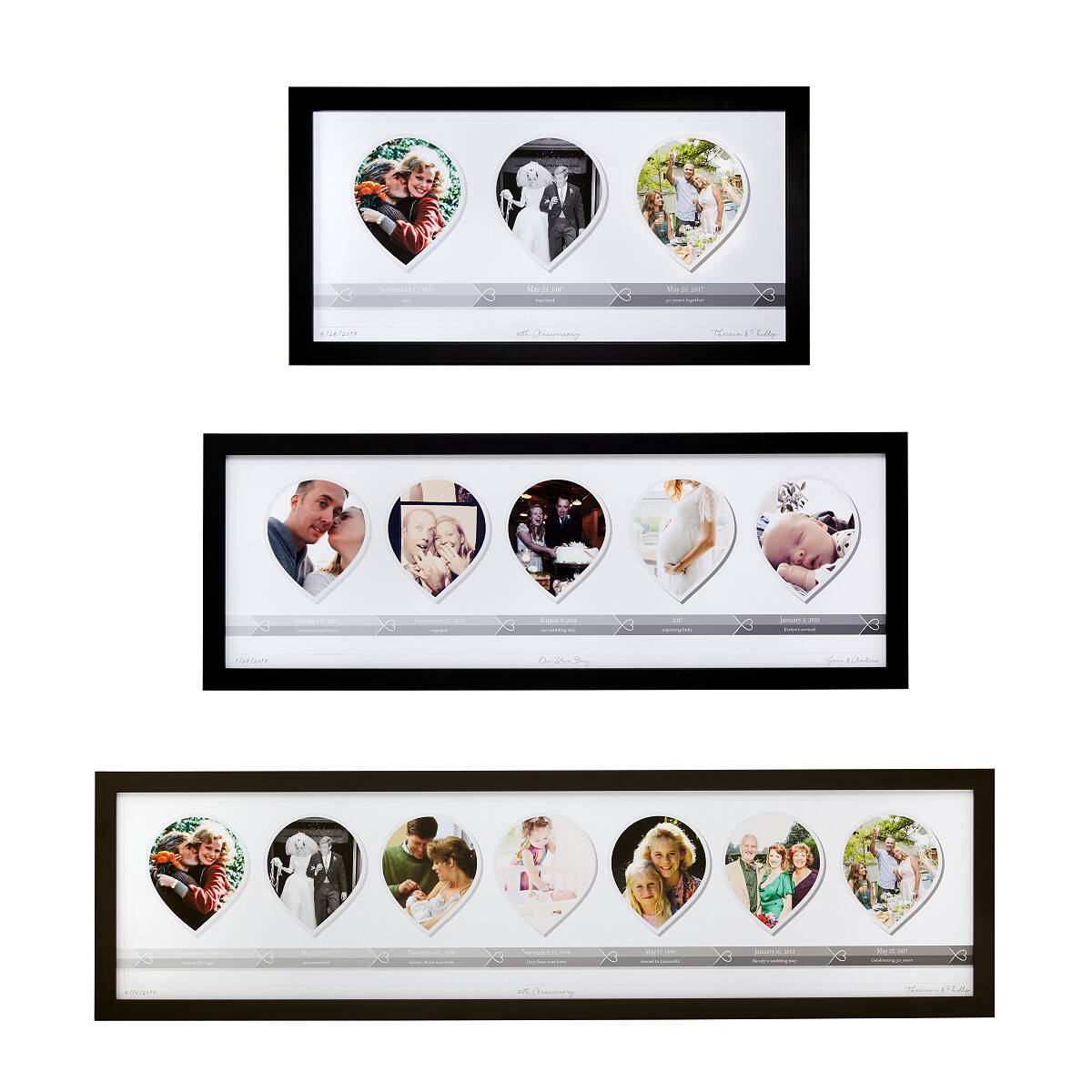 Love timeline photo art unique wedding gifts custom anniversary love timeline photo art 3 thumbnail jeuxipadfo Gallery