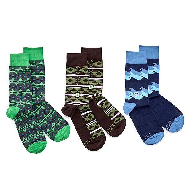 Protect The Planet Socks - Set Of 3