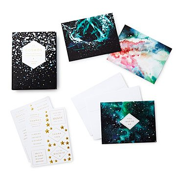 Cosmos Customizable Greeting Cards