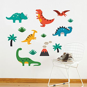 Dinosaur Fabric Wall Decal