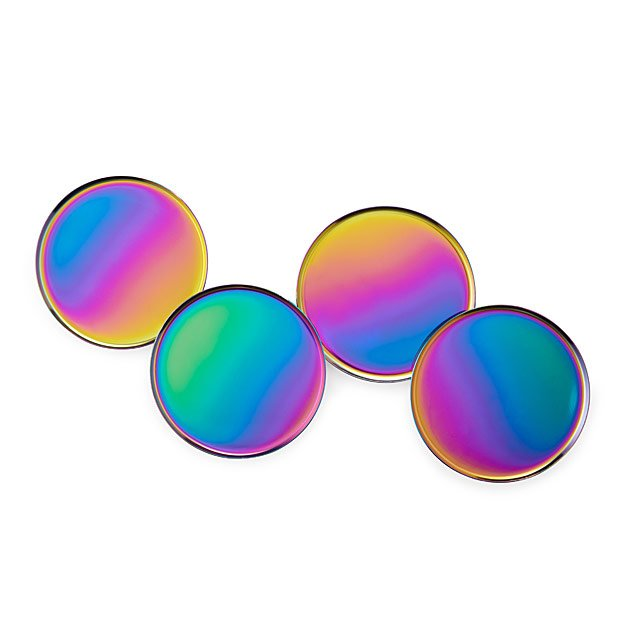 Iridescent Coasters - Set of 4