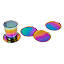 Iridescent Coasters - Set of 4 2 thumbnail