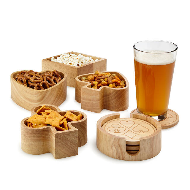 Card Player Snack Set
