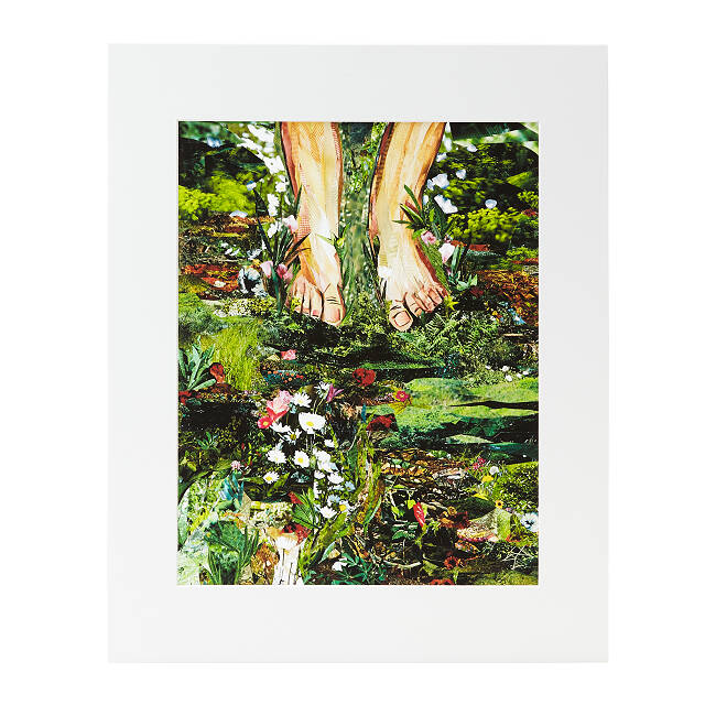 Barefoot in the Meadow Collage