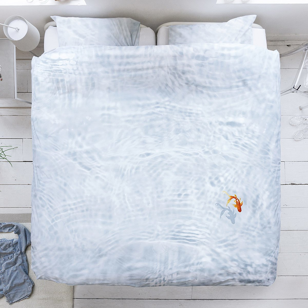 Goldfish Duvet And Pillowcase Set 1 Thumbnail