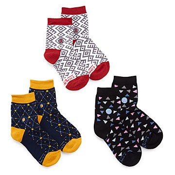 Women's Giving Back Socks -  Set of 3