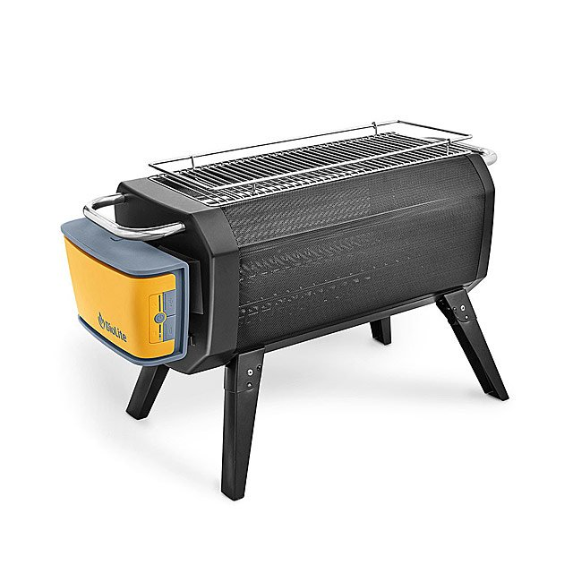 Smokeless Portable Fire Pit and Grill