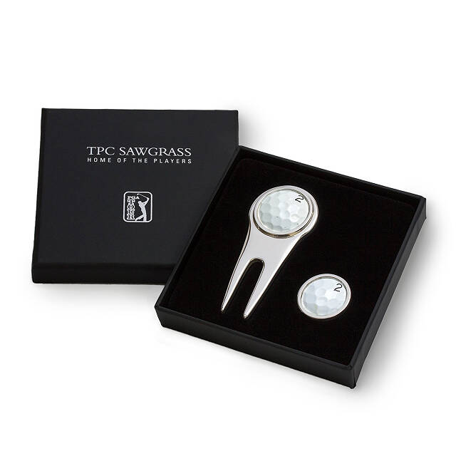TPC Sawgrass Golf Divot Tool Set