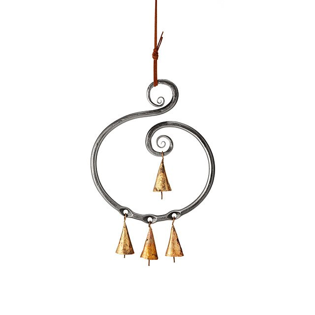 Steel Scroll Wind Chime