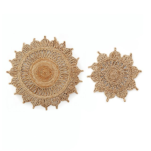 Handcrafted Sunflower Trivets by Uncommon Goods