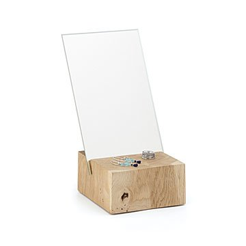 Wooden Oak Mirror