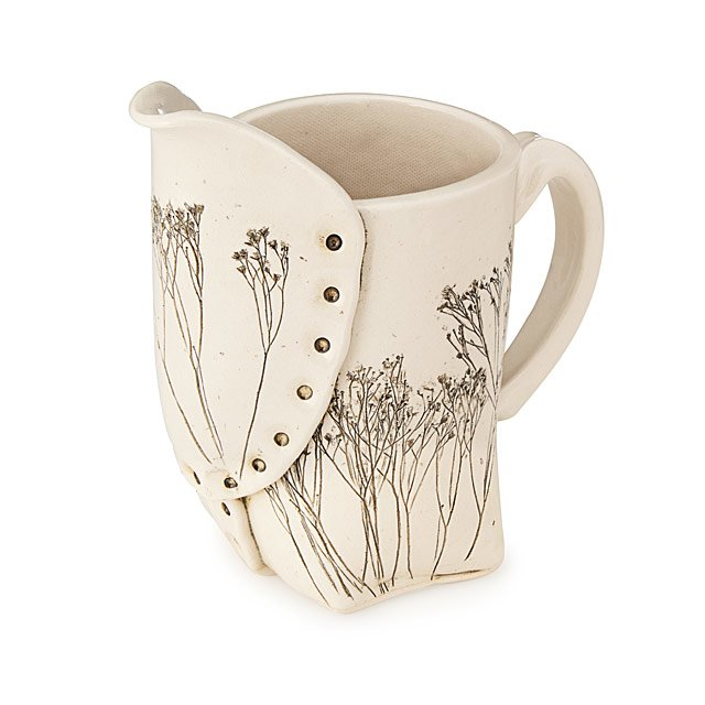 Pressed Wildflower Pitcher