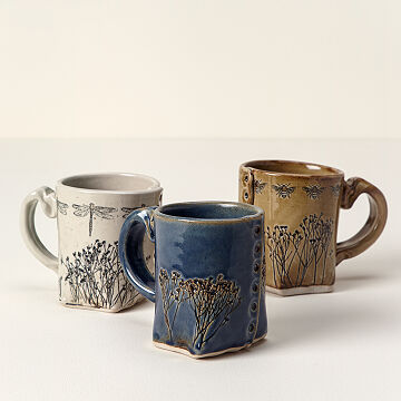 Pressed Wildflower Mug