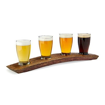 Reclaimed Barrel Beer Serving Flight