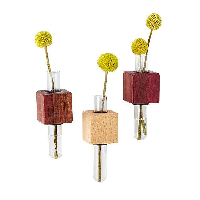 Magnetic Bud Vase Set  sc 1 st  UncommonGoods & Magnetic Bud Vase Set | Mini Flower Vases; Creative Housewarming ...
