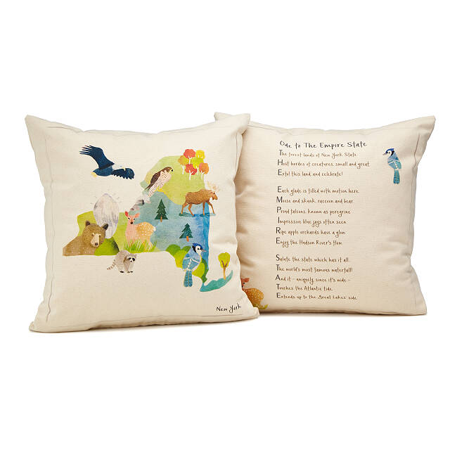 Ode to Home State Pillow