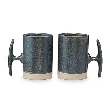 Nautical Cleat Mug - Set of 2