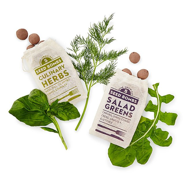 Herbs & Greens Seed Bombs