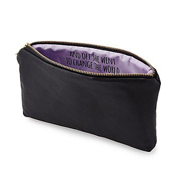 Secret Message Custom Pouch