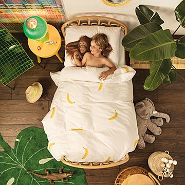 Banana Duvet & Pillowcase Set