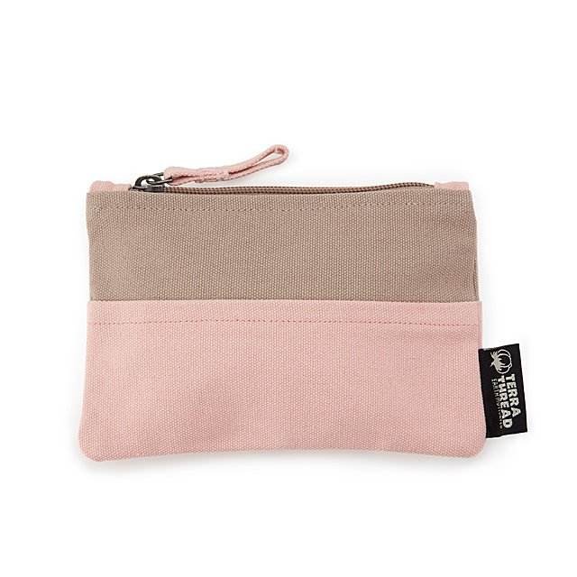 Love Thy Earth Two-Tone Pouch