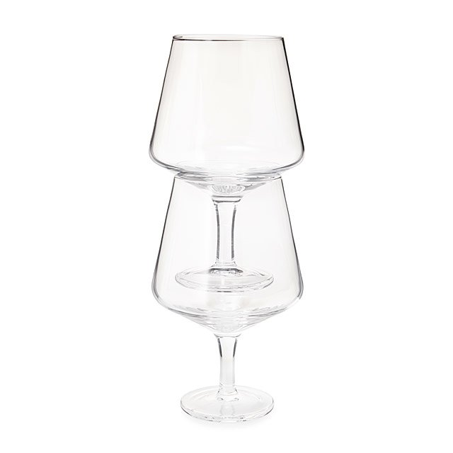 Stacking Wine Glass Set