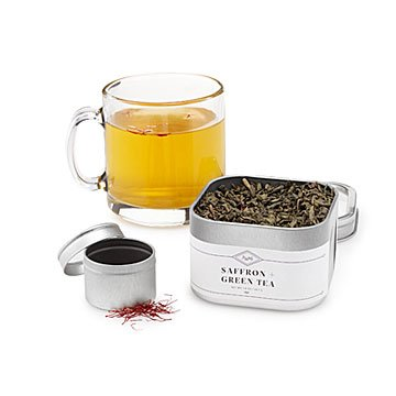 Saffron Green Tea Blending Set