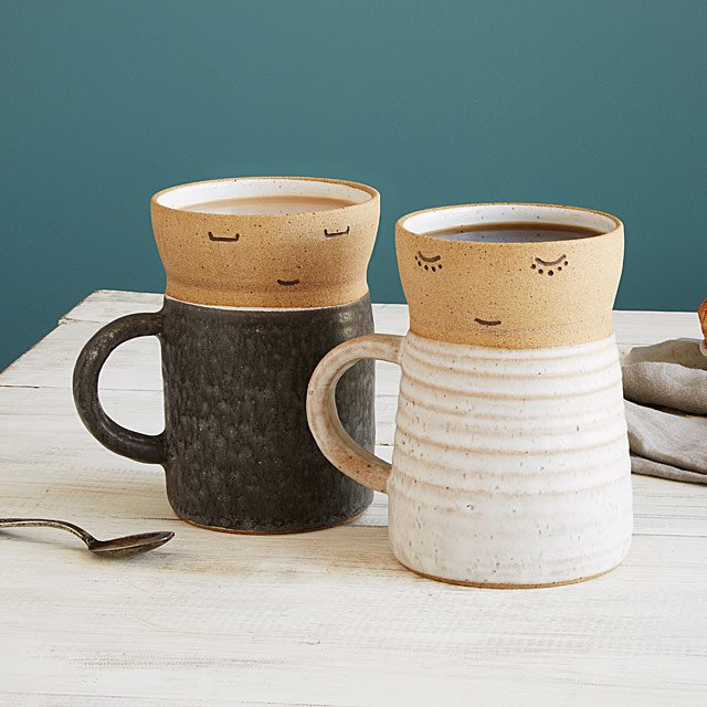 Open-Minded Couple Mugs