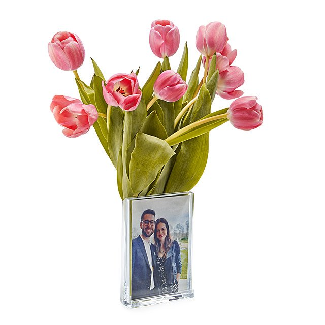 Vase Photo Frame Unique Vase Mothers Day Gift Vase And Picture