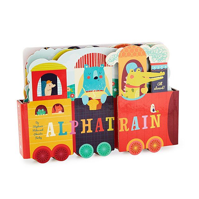 Alphatrain Alphabet Book   ABC Train Toy