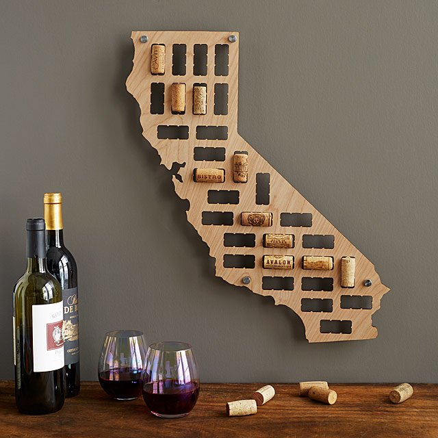 Wine Cork States Hometown Art Uncommongoods