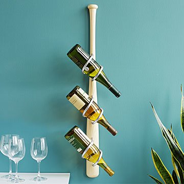 Baseball Bat Wine Rack