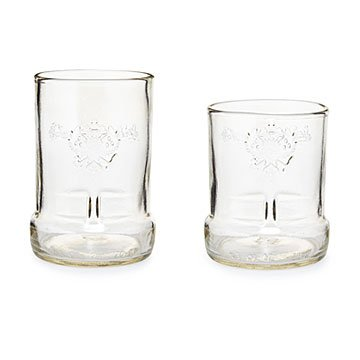 Upcycled Vodka Glasses - Set of 2