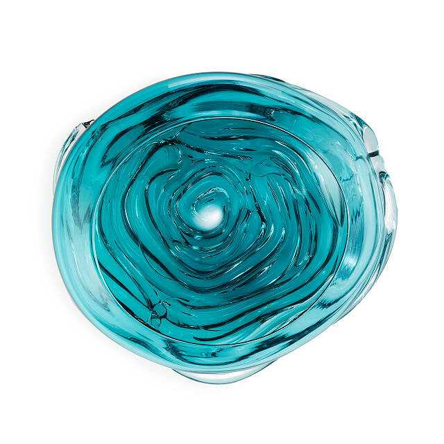 Ripple Wave Sculptural Bowl